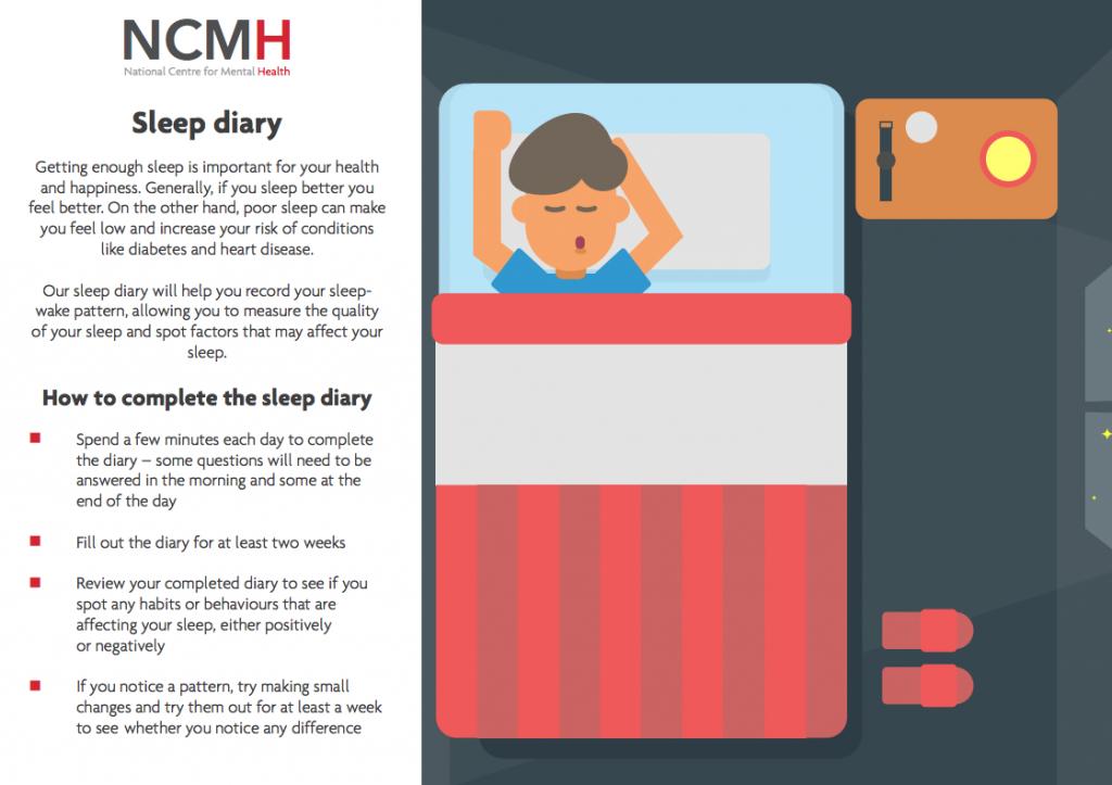 NCMH sleep diary
