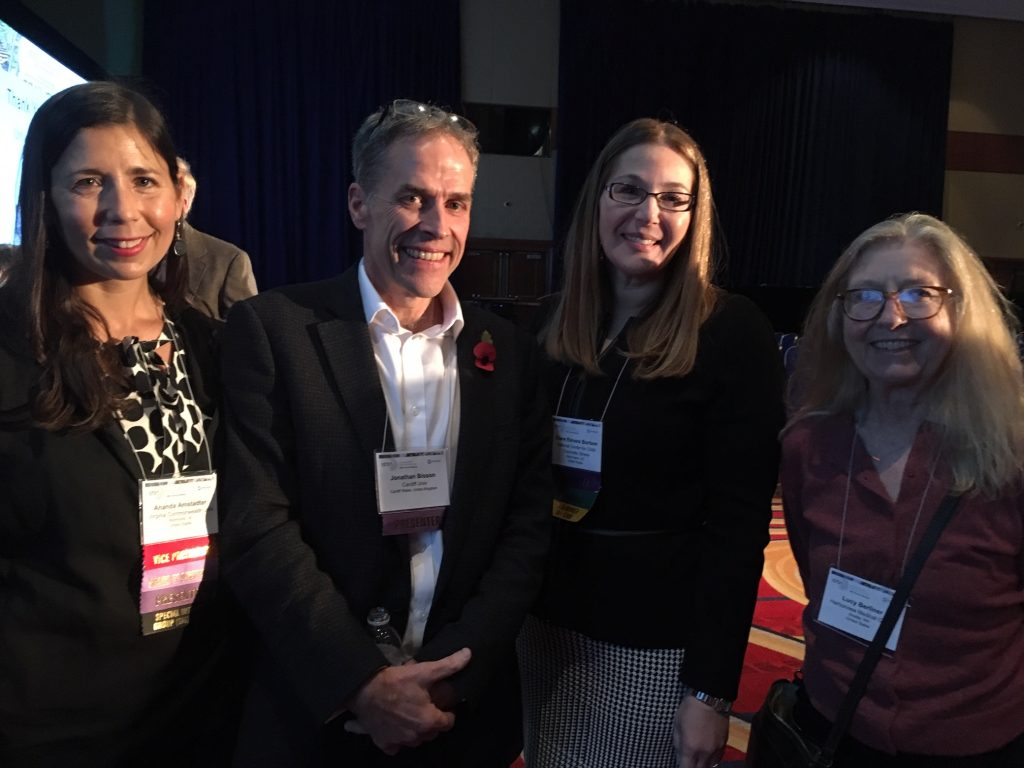 Photograph of Prof Bisson and colleagues in Washington