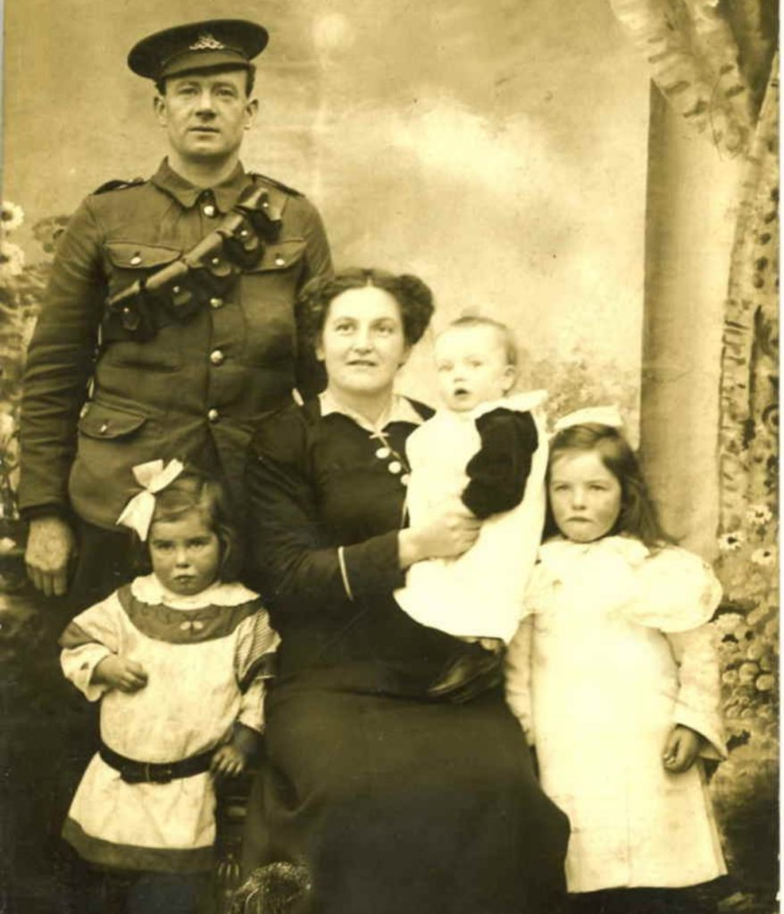 A family portait from the second world war