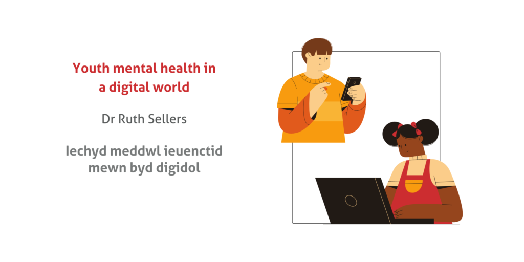 graphic for young mental health in a digital world talk